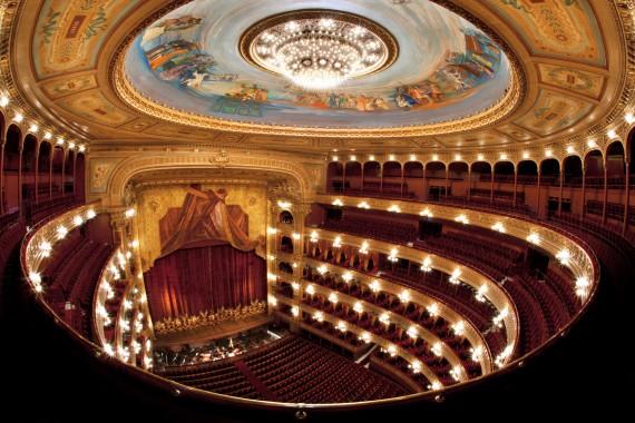 Sala. Teatro Colón . 2010