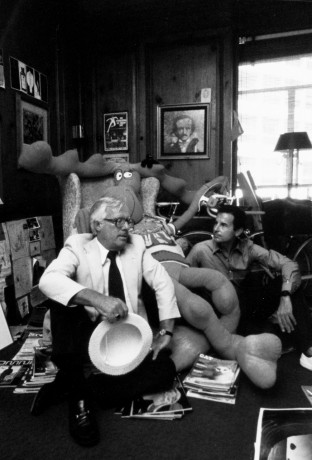 Ray Bradbury & Aldo Sessa. 1980